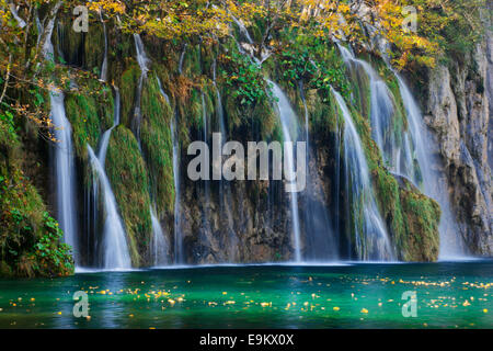 Plitvice lakes national park, Croatia - Stock Photo