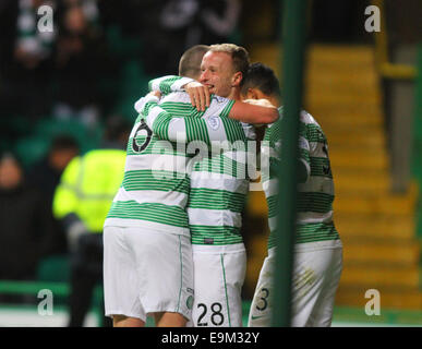 Glasgow, Scotland. 29th Oct, 2014. Scottish League Cup. Celtic versus Partick Thistle. Credit:  Action Plus Sports/Alamy - Stock Photo