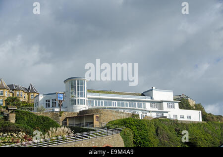 The Winter Gardens at Ventnor, Isle of Wight. - Stock Photo