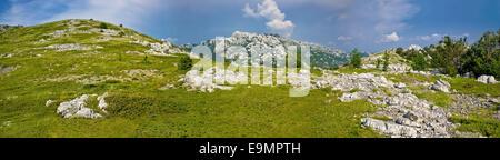 Velebit mountain national park panorama - Stock Photo