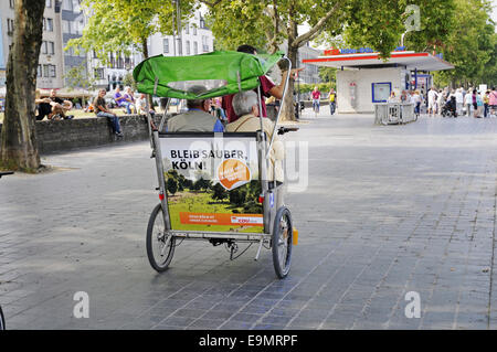 city tour, Cologne, Germany - Stock Photo