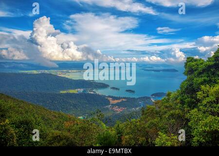 Langkawi viewpoint - Stock Photo