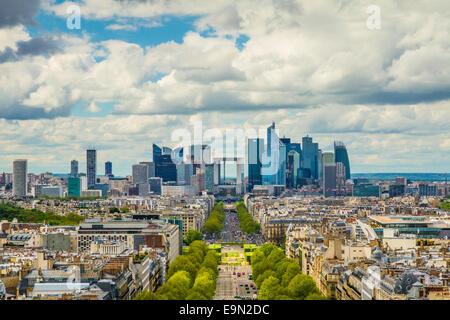 La Défense, Paris - Stock Photo