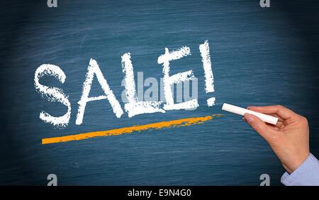 SALE ! - Stock Photo