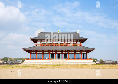 Heijo Palace in Nara, Japan - Stock Photo