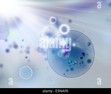 cell therapy graphic - Stock Photo