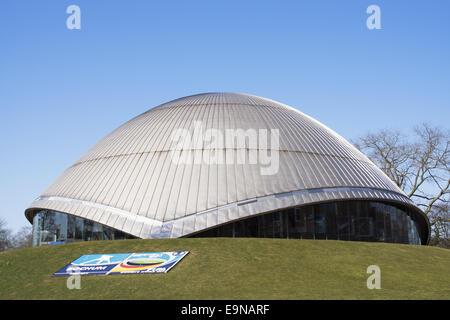 Zeiss Planetarium in Bochum, Germany - Stock Photo