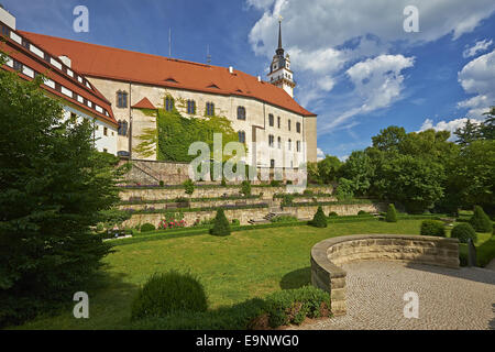 Castle Hartenfels, Torgau, Germany - Stock Photo