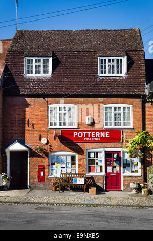 Potterne Post Office in Wiltshire UK - Stock Photo