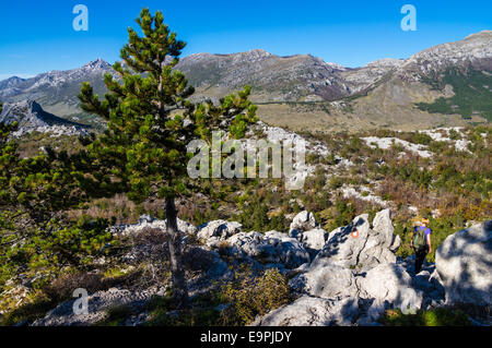 Velebit, most famous mountain in Croatia. Known for it's natural beauty. - Stock Photo
