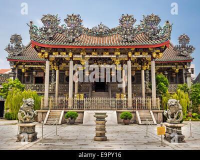 Khoo Kongsi clan house temple in George Town, Penang, Malaysia. - Stock Photo