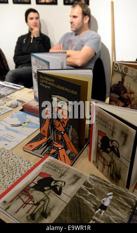 Prague, Czech Republic. 1st Nov, 2014. The 9th KomiksFEST in Prague, Czech Republic, November 1, 2014. KomiksFEST - Stock Photo