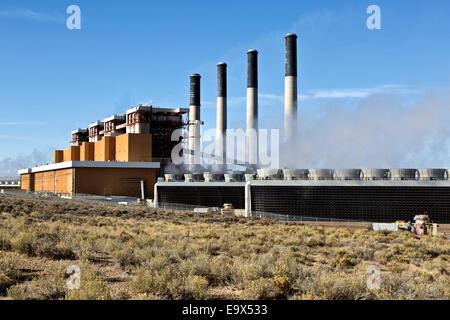 Jim Bridger Power Plant, coal fired.
