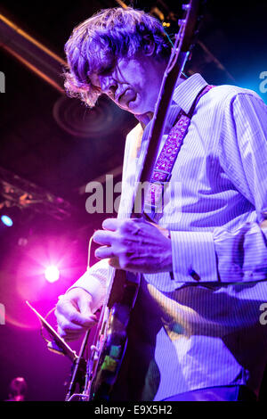 Milan Italy. 02th November 2014. The American musician THURSTON MOORE and his Band performs live at the music club - Stock Photo