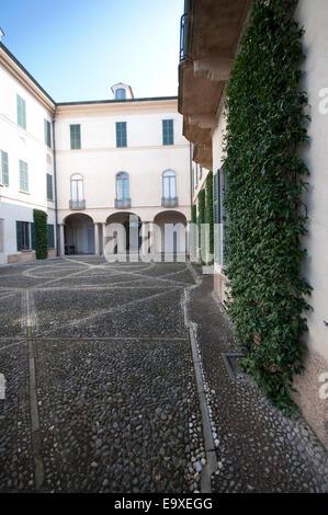 Italy, Lombardy, Varese, Biumo Superiore, Villa Menafoglio Litta Panza,  FAI Fondo Ambiente Italiano property - Stock Photo