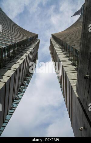 Porta Nuova business district, Milan, Lombardy, Italy - Stock Photo