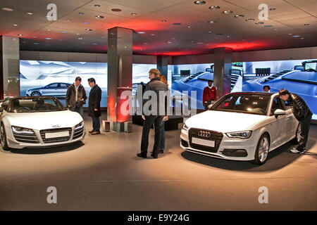 Audi Dealer Dealership Showroom Car Cars New Volkswagen