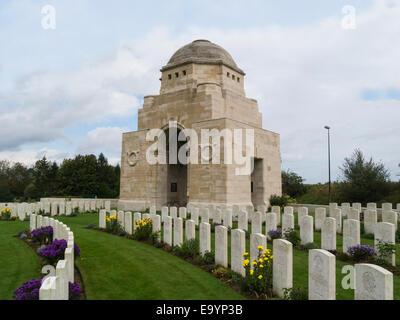 Cabaret-Rouge British First World War cemetery Souchez France EU - Stock Photo