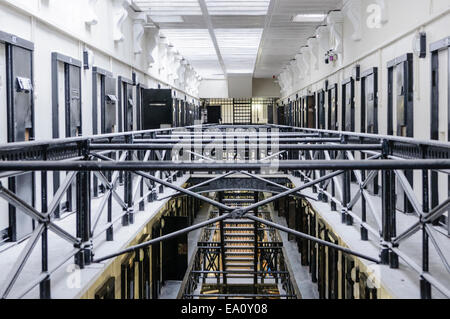 Jail Cells Inside An Old Prison Stock Photo 43485756 Alamy