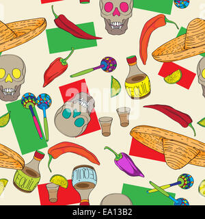 cinco de mayo pattern - Stock Photo