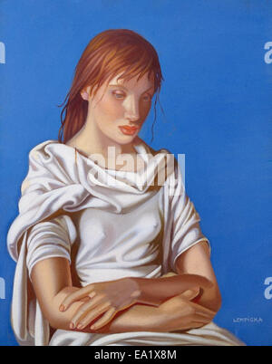 Tamara de Lempicka  Woman with Arms Crossed - Stock Photo