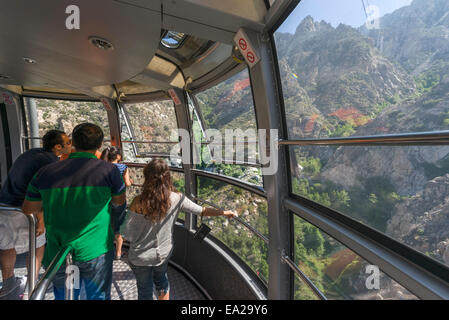 usa california palm springs tourists view aerial tram way stock photo royalty free image. Black Bedroom Furniture Sets. Home Design Ideas