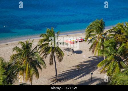 Ancon beach, Trinidad, Sancti Spiritus Province, Cuba, West Indies, Caribbean, Central America - Stock Photo