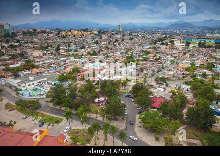 City view, Santiago de Cuba, Santiago de Cuba Province, Cuba, West Indies, Caribbean, Central America - Stock Photo