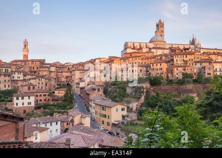 The Duomo di Siena (Siena Cathedral), UNESCO World Heritage Site, Siena, Tuscany, Italy, Europe - Stock Photo