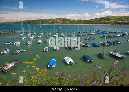 New Quay, Ceredigion, Dyfed, West Wales, Wales, United Kingdom, Europe - Stock Photo