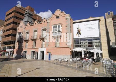 roman theatre, museum, Cartagena, Spain - Stock Photo
