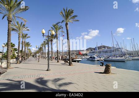 harbour, Cartagena, Spain - Stock Photo