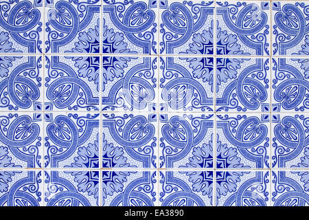 Tiles in Portugal - Stock Photo