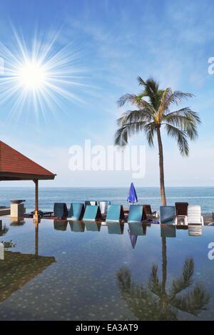 Sun on the island of Koh Samui - Stock Photo