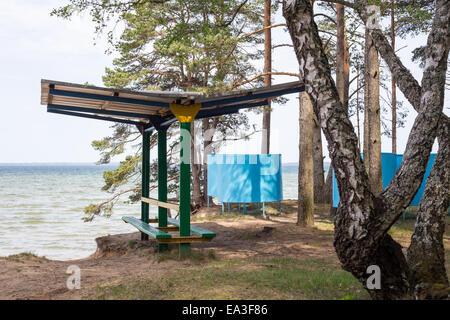 Lake Narach, Minsk region, Belarus - Stock Photo