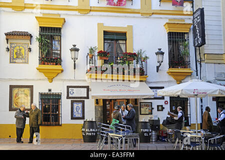 Taberna San Miguel, tavern, Cordoba, Spain - Stock Photo