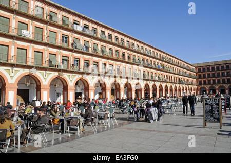 Plaza de la Corredera, square, Cordoba, Spain - Stock Photo