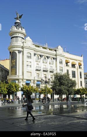 Plaza de las Tendillas, square, Cordoba, Spain - Stock Photo