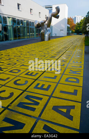 Berlinische Galerie, Museum of Modern Art, Kreuzberg, Berlin, Germany - Stock Photo