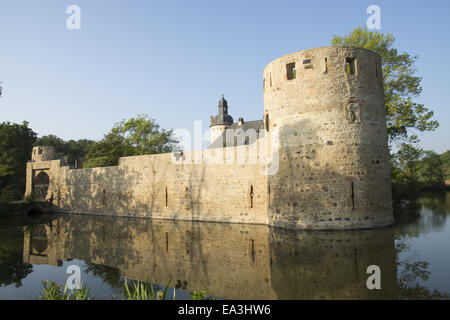 Castle Veynau, Euskirchen-Wisskirchen, Germany - Stock Photo