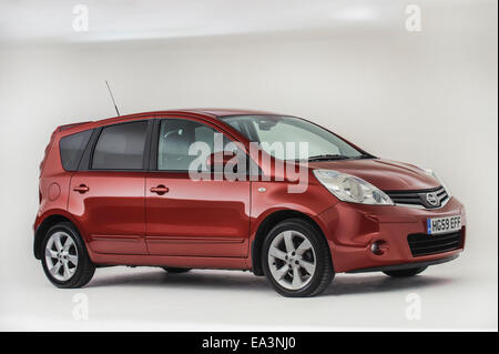 2009 Nissan Note - Stock Photo