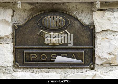 letter box - Stock Photo