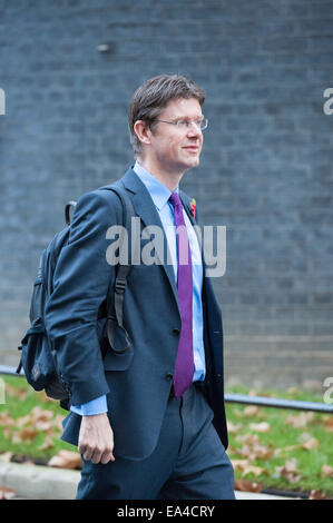 Downing Street, London, UK. 4th November 2014. Government ministers attend Downing Street for their weekly Cabinet - Stock Photo