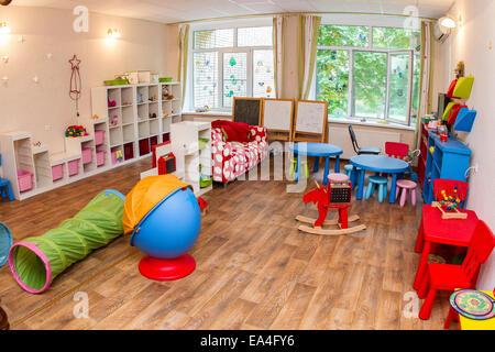 Children's room, modern home - Stock Photo