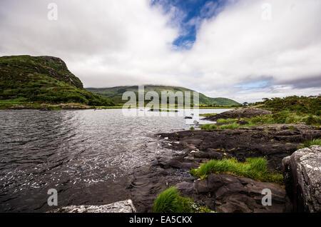 Ireland, Province Munster, County Kerry, Killarney, Upper Lake, Killarney National Park - Stock Photo