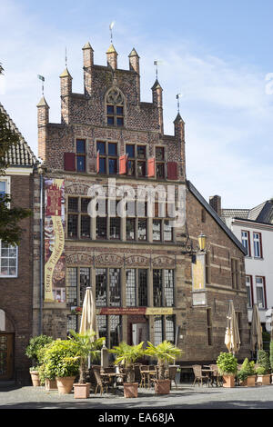 The Gothic House in Xanten, Germany - Stock Photo