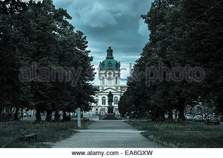 Germany, Berlin, View of Charlottenburg Palace - Stock Photo