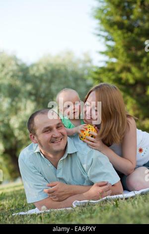 complete family - Stock Photo