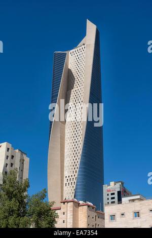 Al Hamra Tower in Kuwait City, Kuwait - Stock Photo
