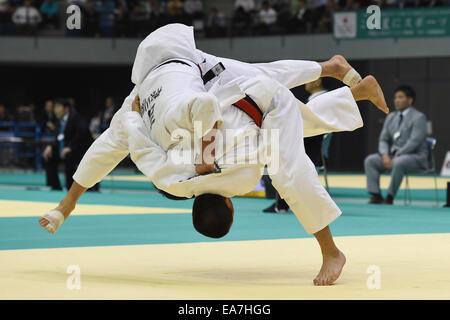 Chiba Port Arena, Chiba, Japan. 8th Nov, 2014. Hifumi Abe, NOVEMBER 8, 2014 - Judo : Kodokan Cup 2014 Men's -66kg - Stock Photo